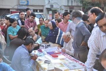 2100 patients examined free, given treatment at Joshi Foundation's mega health check up camp